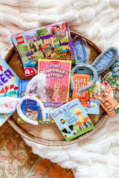 Toddler Easter Basket Ideas from Amazon & Target